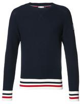Moncler Gamme Bleu Blue Crew-neck Sweater