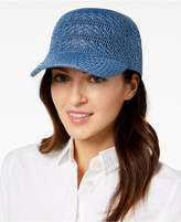 INC International Concepts I.n.c. Crochet Packable Baseball Cap, Created for Macy's