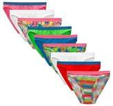 Fruit of the Loom Girls' 9-pack Bikini Underwear - Assorted Colors