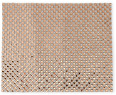 red pomegranate Gold-Tone Square-Pattern Jeweled Placemat