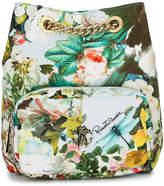 Roberto Cavalli floral print shoulder bag