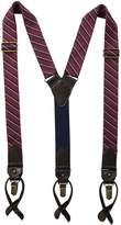 Tommy Hilfiger Men's 32mm Woven Stripe Suspender