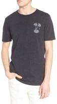 Globe Men's Nightfall Graphic Acid Wash T-Shirt