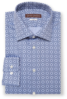 Hickey Freeman Classic Fit Textured Cotton Dress Shirt