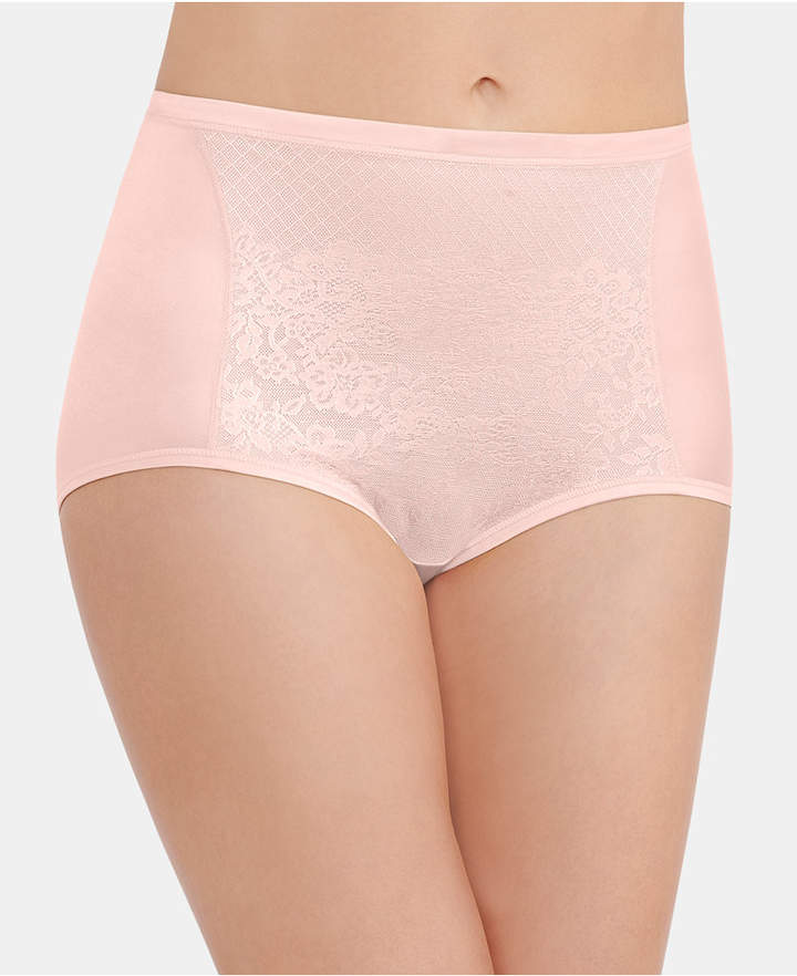 Vanity Fair Smoothing Comfort with Lace Brief 13262, also available in extended sizes