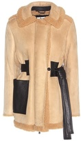 Acne Studios Fayette Shearling-lined Suede Jacket