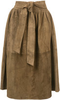 Apiece Apart Elisa wrap skirt - women - Suede - S