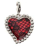 Christian Lacroix Pendant - Red Heart