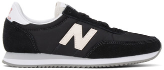 New Balance Black and White 720 Sneakers