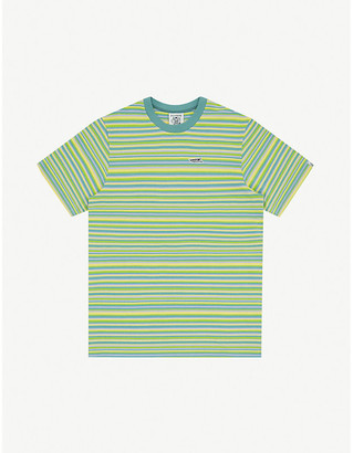 Billionaire Boys Club Striped cotton-knit T-shirt