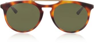Gucci GG0320S Round-frame Acetate Sunglasses