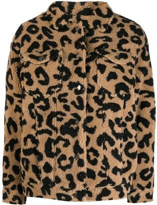 Apparis Tiarra leopard jacket
