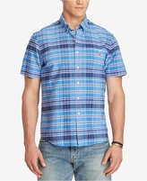 Polo Ralph Lauren Men's Big & Tall Plaid Oxford Shirt