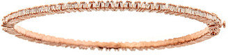 Forever Creations Usa Inc. Forever Creations 18K Over Silver 1.63 Ct. Tw. Diamond Bangle