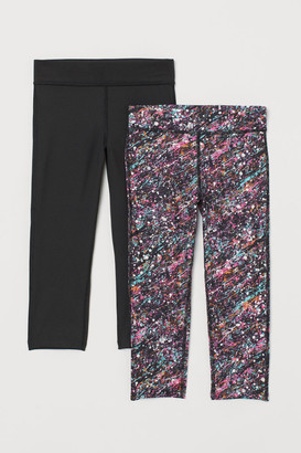 H&M 2-Pack Sports Tights