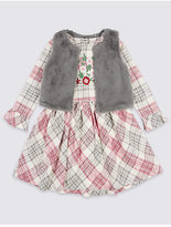 Marks and Spencer 2 Piece Dress with Gilet Outfit (3 Months - 6 Years)