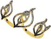 Noir Women's Radiance Inlay Ring