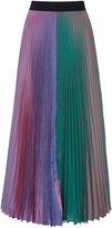 Christopher Kane Two Tone Pleated Skirt