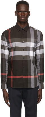 Burberry Grey Check Somerton Shirt
