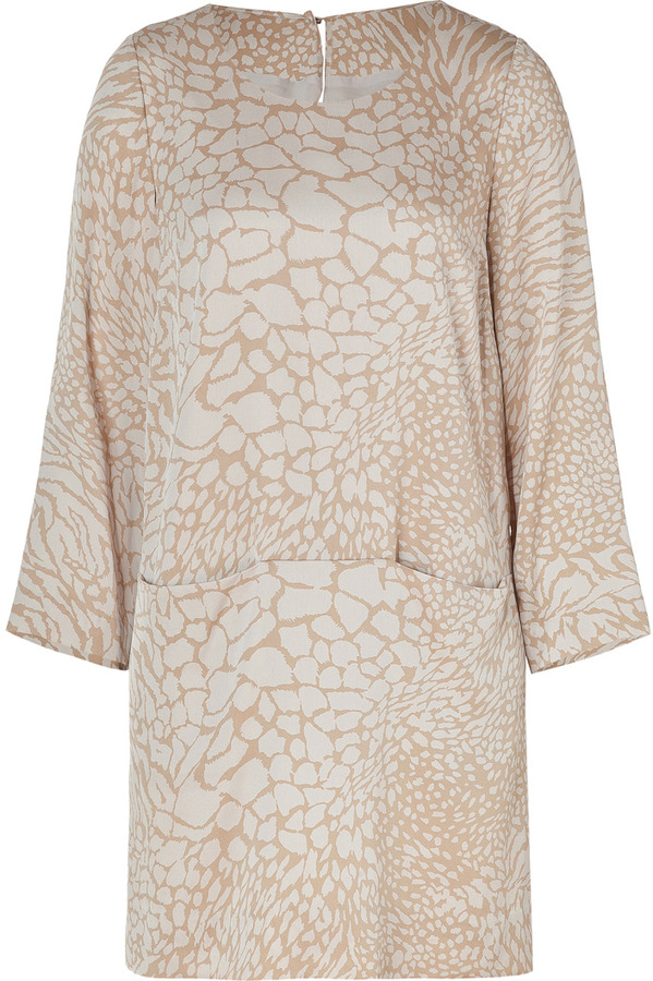Steffen Schraut Jungle Khaki City Silk Tunic