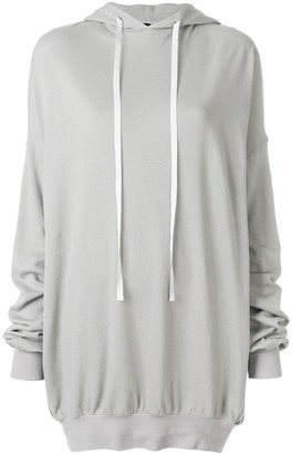 Unravel Project hooded knitted top