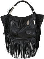 DSQUARED2 Fringed Metallic Leather Bag