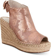 Kenneth Cole New York Women's Olivia Espadrille Peep-Toe Wedges Women's Shoes