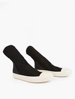 Rick Owens Black Scuba Sock Sneakers