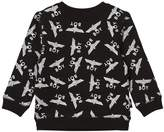 Boy London Black and White Repeat Logo Sweatshirt