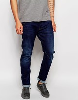 G Star G-Star Jeans Arc 3D Slim Fit Wisk Dark Aged Restored Wash