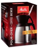 Melitta Thermal Stainless Steel 10-Cup Pour Over Coffee Maker