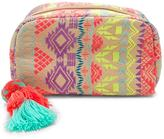 Forever 21 FOREVER 21+ Abstract Woven Makeup Bag