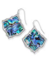 Kendra Scott Kirsten Drop Earrings in Silver