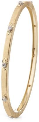 Buccellati 'Macri Classica' diamond yellow gold bangle