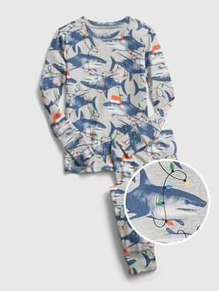 Gap Kids Shark Graphic PJ Set
