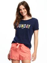 Old Navy Relaxed Graphic Tee for Women