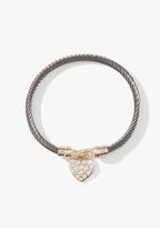 Twisted Heart Bracelet