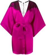 Gilda & Pearl - 'Illusion' robe - women - Silk/Nylon/Polyethylene/Rayon - One Size