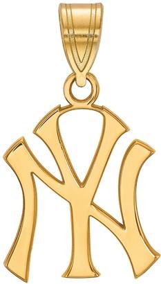 New York Yankees LogoArt 10K Gold Pendant