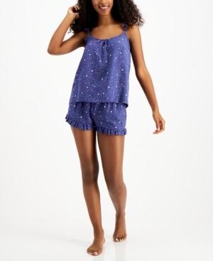 Jenni Printed Tank & Shorts Pajama Set