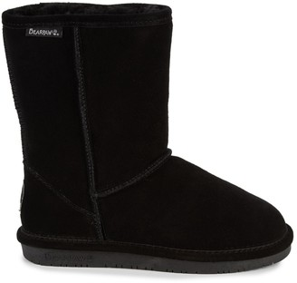 BearPaw Emma Shearling Lined Suede Short Boots