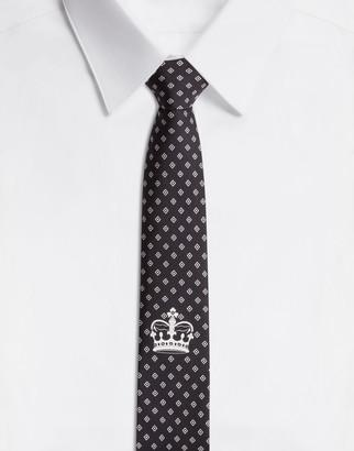 Dolce & Gabbana Silk Tie In Bandana Print
