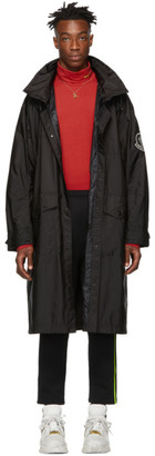 MONCLER GENIUS 2 Moncler 1952 Black Greg Long Coat