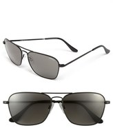 Randolph Engineering Men's 'Intruder' 58Mm Sunglasses - Matte Black/ Grey