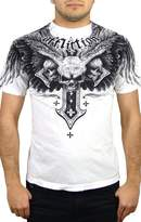Affliction Men's Demon Eyes T-Shirt XXXL
