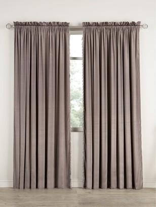 Laurence Llewellyn Bowen Laurence Llewelyn Bowen Grande Finale Reversible Faux Silk Slot Top Curtains