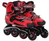 Ferrari Carbon Fiber Slalom Inline Skates with Interchangeable Chassis