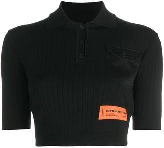 Heron Preston short sleeve polo T-shirt