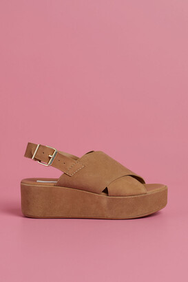 H&M Suede platform sandals