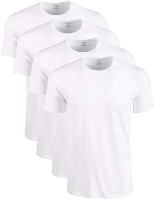 Calvin Klein Men Cotton Stretch Crewneck Undershirts 4-Pack